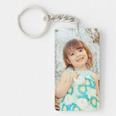 Child Photo Keepsake Keychain at Zazzle