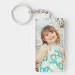 Child Photo Keepsake Single-Sided Rectangular Acrylic Keychain