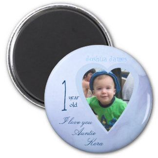 child picture i love you 2 inch round magnet