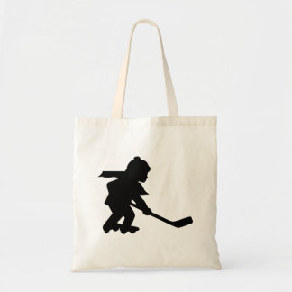Child Playing Roller Hockey Canvas Bag