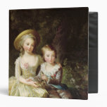 Child portraits of Marie-Therese-Charlotte 3 Ring Binders