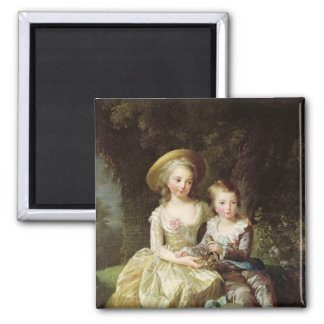 Child portraits of Marie-Therese-Charlotte Magnet