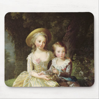 Child portraits of Marie-Therese-Charlotte Mouse Pad