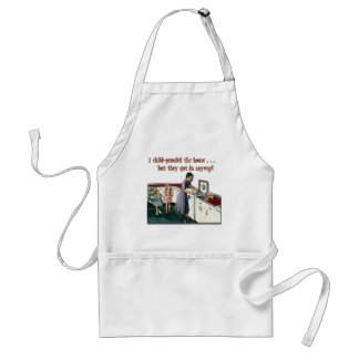 Child-proof House Adult Apron