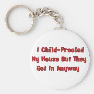 Child-Proofing Failure Keychain