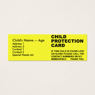 Child Protection Card (2)