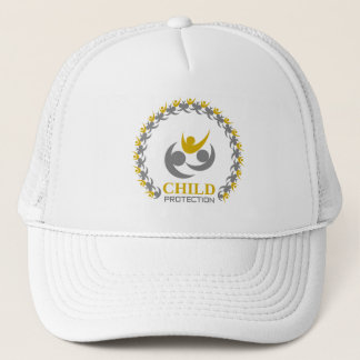 child protection trucker hat