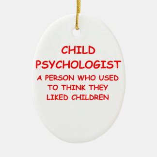 child psychologist christmas ornaments