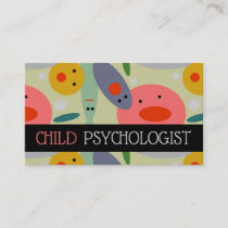 Child Psychologist Psychical Therapist Medical Business Card