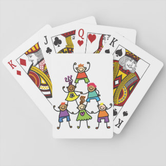 Child Pyramid Playing Cards