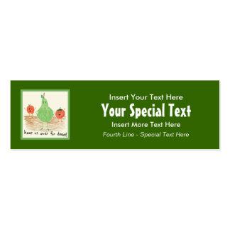Child s Art Green Business Card Templates