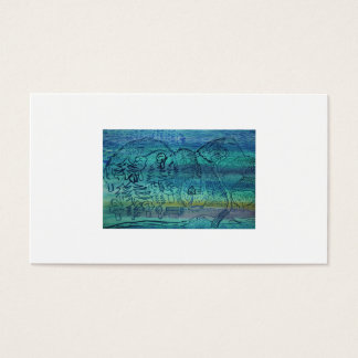 Child´s Painting Business Card