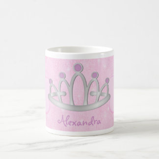 Child s Personalized Pink Princess Mug