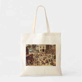 Child s play by Pieter Bruegel Canvas Bags