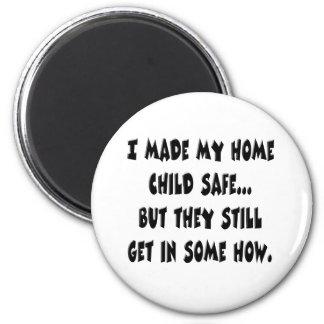 Child Safe Home Magnet