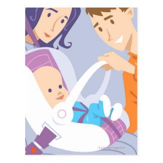 Child Safety Seat Postcard
