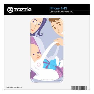 Child Safety Seat iPhone 4 Decals