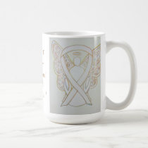 Child Sexual Assault Awareness White Ribbon Mug