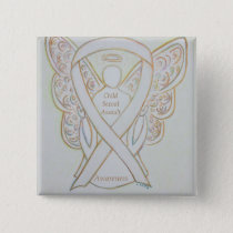 Child Sexual Assault Awareness White Ribbon Pin