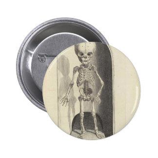 Child Skeleton Button