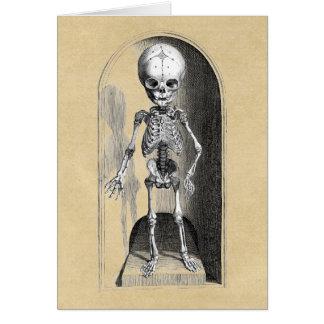 Child Skeleton front / back Card