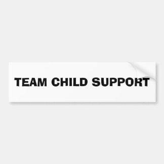 Child Support Pride Bumper Sticker