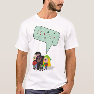 Child T - xmas math carolling T-Shirt