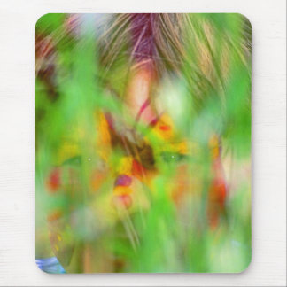 Child/Toddler appearing as Tiger in the Grass Mouse Pad