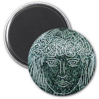 Child Warrior 2 Inch Round Magnet