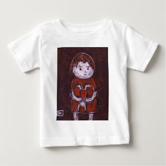 CHILD WITH A DOLL BABY T-Shirt