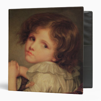 Child with a Doll 3 Ring Binders