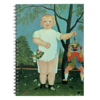 Child with a Puppet, c.1903 (oil on canvas) Notebook