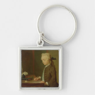 Child with a Teetotum, 1738 Keychain