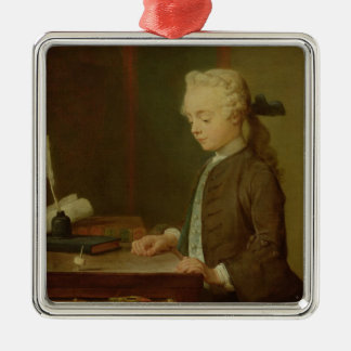 Child with a Teetotum, 1738 Metal Ornament