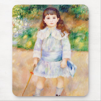 Child with a Whip Pierre Auguste Renoir painting Mouse Pad