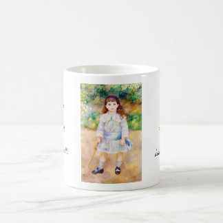 Child with a Whip Pierre Auguste Renoir painting Classic White Coffee Mug