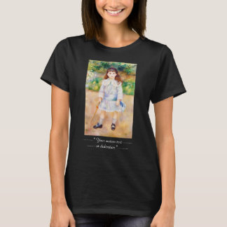 Child with a Whip Pierre Auguste Renoir painting T-Shirt