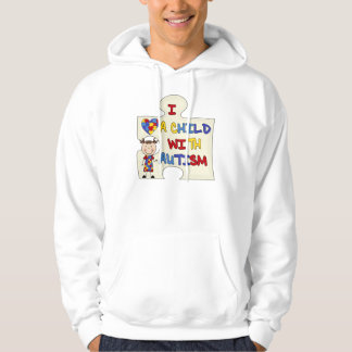 Child WIth Autism Brunette Girl 2 Hoody