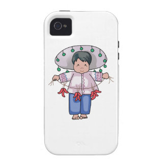 CHILD WITH CHILI PEPPERS iPhone 4/4S COVER