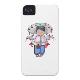 CHILD WITH CHILI PEPPERS Case-Mate iPhone 4 CASE