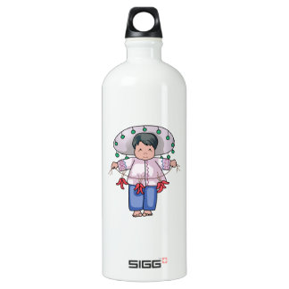 CHILD WITH CHILI PEPPERS SIGG TRAVELER 1.0L WATER BOTTLE