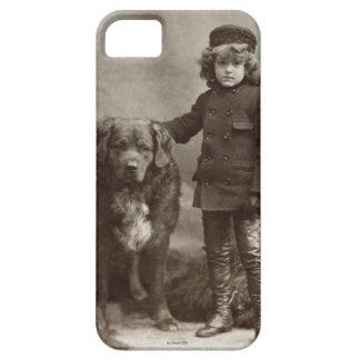 Child With Dog, C1885 iPhone SE/5/5s Case