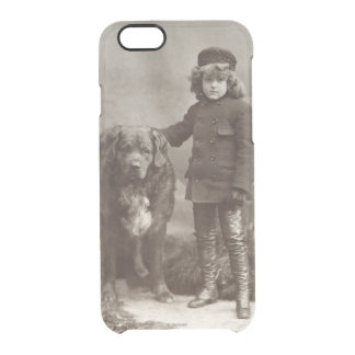 Child With Dog, C1885 Uncommon Clearly™ Deflector iPhone 6 Case