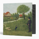 Child with Geese 3 Ring Binders