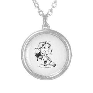 Child with Ice Cream Cone Custom Jewelry