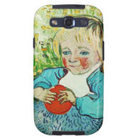 Child with Orange, 1890. Vincent van Gogh. Galaxy S3 Covers