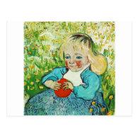 Child with Orange 1890,Vincent van Gogh Postcard
