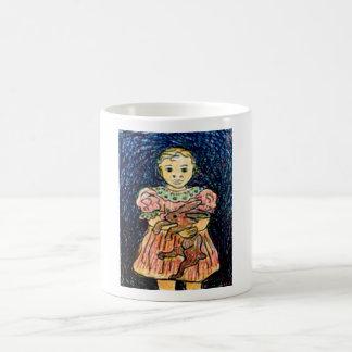 Child with Rabbit Coffee Mugs