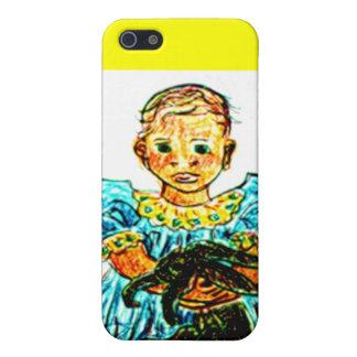 Child with Rabbit iPhone 5 Case