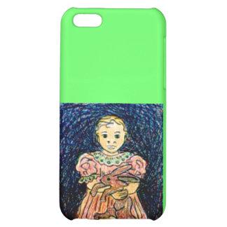 Child with Rabbit iPhone 5C Case